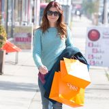 Alyson Hannigan shoppt bei Eggy in West Hollywood.