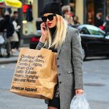 Rita Ora ist in New York auf Shopping-Tour.