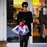 Kirs Jenner macht das Shoppen bei Fred Segal in West Hollywood glücklich.