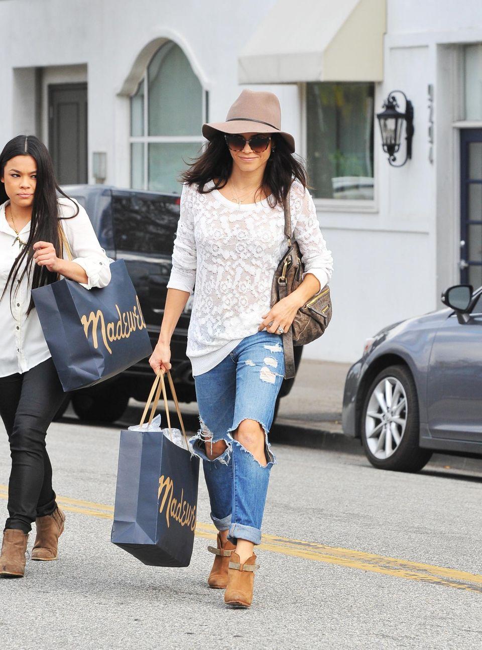 In Beverly Hills ist Jenna Dewan-Tatum unterwegs beim shoppen.