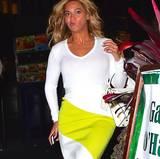 Ach wie schön, auch einer Beyoncé können die Gesichtszüge mal engleisen.
