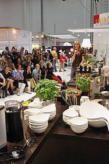 In Kochshows können sich die Besucher Kochtricks bei den Fachmännern und -frauen der Branche abgucken. Einige Kniffe lassen sich