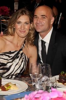 25. September 2009: Steffi Graf und Andre Agassi bei einem Wohltätigkeits-Dinner in Las Vegas.