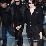 Marilyn Manson landet in Los Angeles.
