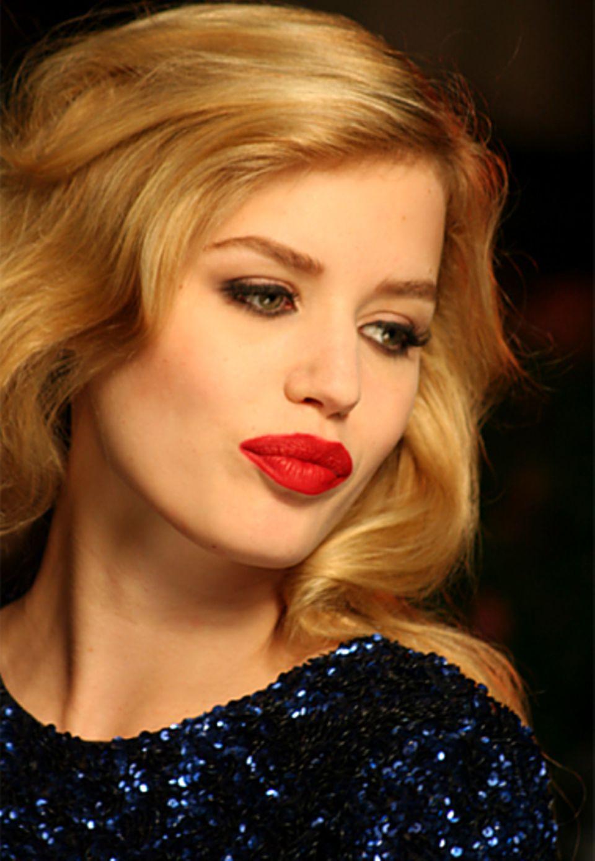 Georgia May Jagger, Tochter von Mike Jagger und Model Jerry Hall, gilt mit ihren 17 Jahren in der Modeszene bereits als Stilikon