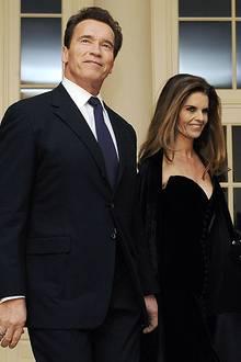 9. Mai 2011: Arnold Schwarzenegger und Maria Shriver geben ihre Trennung bekannt.