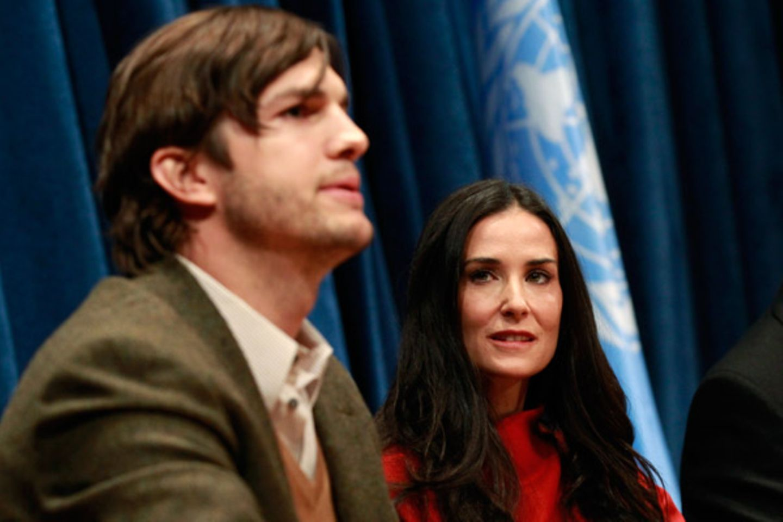 17. November 2011: Ashton Kutcher und Demi Moore trennen sich nach sechs Jahren Ehe. In einer Stellungnahme verkündet Demi Moore