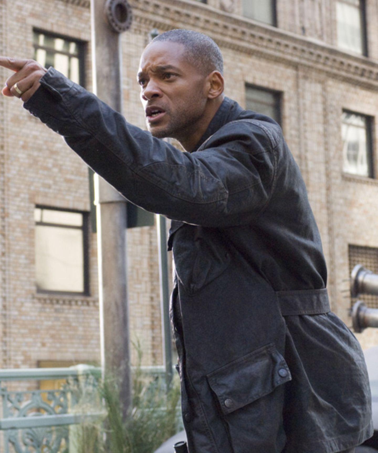 """Legendär: Will Smith setzt als Einzelkämper in """"I am Legend"""" auf """"Belstaff"""""""