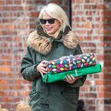 Michelle Williams ist in Weihnachtsstimmung und hat schon ein paar Geschenke besorgt.