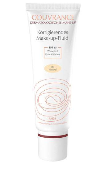"Korrigierendes Make-up-Fluid ""Couvrance"" von Eau Thermale Avène (30 ml, ca. 19 Euro)"