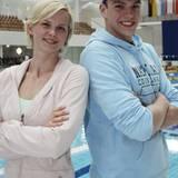 Britta Steffen und Paul Biedermann wurden im Frühjahr 2010 von Sport- und Teamkollegen zu einem Paar.