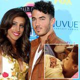 Februar 2014: Sänger Kevin Jonas und seine Frau Danielle sind überglücklich über Twitter ihre Elternschaft verkünden zu können. Ihre Tochter trägt den Namen Alena Rose Jonas.