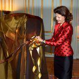 18. Dezember 2013  Im Schloss in Stockholm ist das erste Geschenk zum 70. Geburtstag von Königin Silvia angekommen und wartet aufs Auspacken.