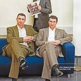 """Die Klitschko-Brüder engagieren für diverse Wohltätigkeitsprojekte. Für ihren Einsatz wurden sie von der """"Unesco"""" zu """"Heroes for"""
