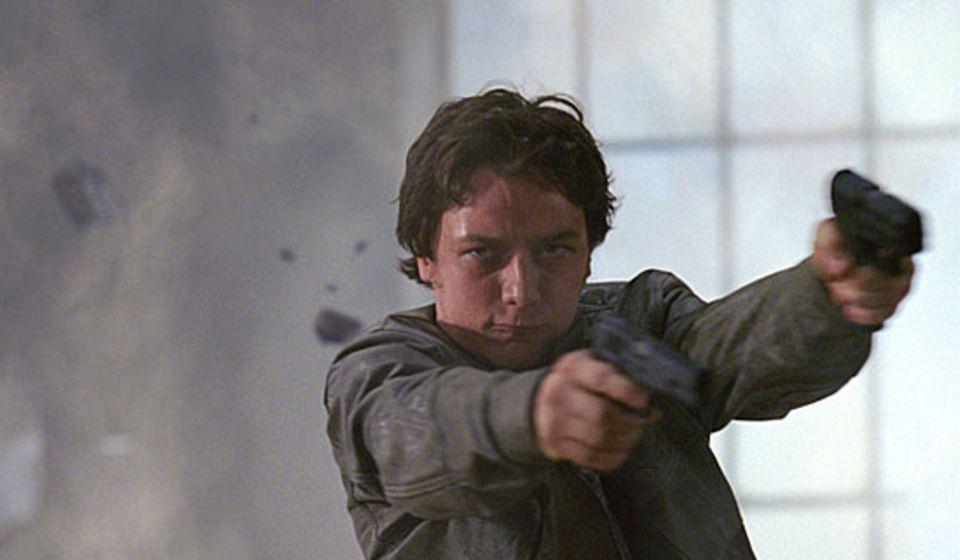 """Platz 5: James McAvoy in """"Wanted"""""""