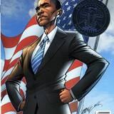Barack Obama macht auch als Comic-Held eine gute Figur.