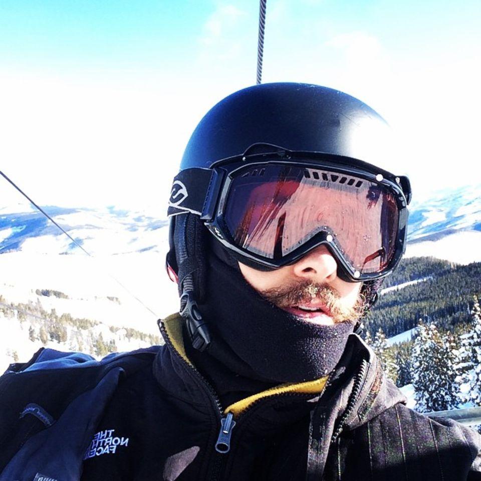 Auch Jared Leto verbringt seine freie Zeit im Skiurlaub.