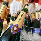 Den Champagner aus dem Hause Pommery ...