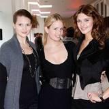 """Auch sie wurden durch """"Germany's Next Topmodel"""" bekannt: Christina Leibold, Carolin Ruppert und Janina Delia Schmidt"""