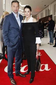 Reger Betrieb auf dem roten Teppich: Patrick und Mariella Graf und Gräfin von Faber-Castell