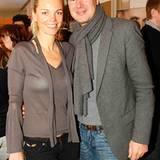 Philipp Wolff (Hugo Boss AG) kam in Begleitung von Michaela Cordes