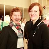 Angela Scheer und Steffi Konrad (beide Cinque)