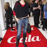 Carol Campbell posiert auf dem roten GALA-Teppich