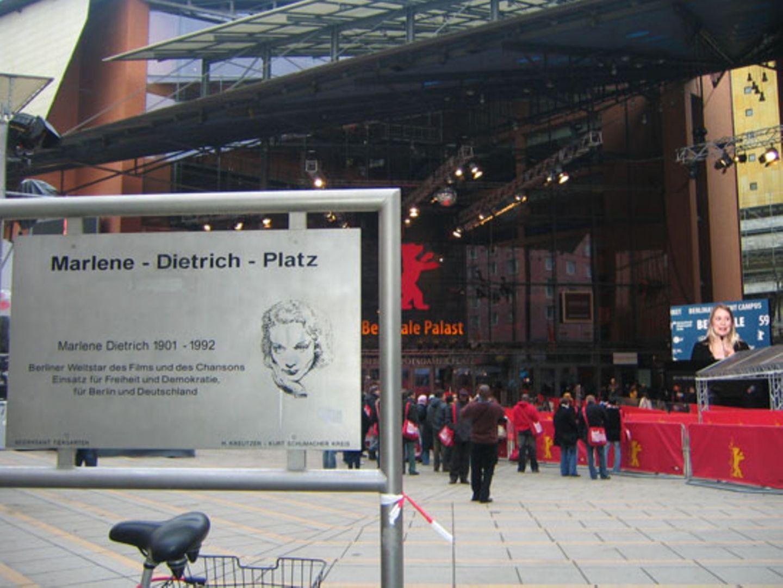 Der Berlinale-Palast am Marlene-Dietrich-Platz
