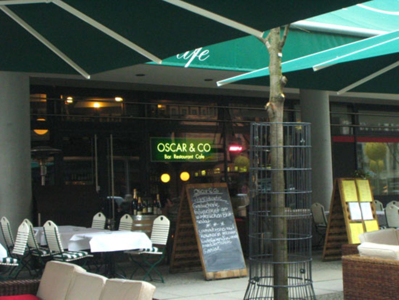 """Das Café unweit des Berlinale-Palastes heißt passenderweise """"Oscar + Co"""""""