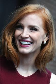 Bei ihrem wunderschönen Lächeln und der natürlichen Schönheit kann man durchaus behaupten, dass Jessica Chastain einer der schönsten Rotschöpfe Hollywoods überhaupt ist.