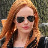 """Zwar sind Kate Bosworths Haare für die Dreharbeiten ihres neuen Films """"Still Alice"""" papaya-rot gefärbt worden, wir finden aber, dass sie ruhig dabei bleiben könnte."""