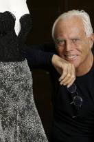 Giorgio Armani ist der Mann, der die Stars anzieht