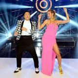 """Psy stellt seinen neuen Song """"Gentlemen"""" vor, Heidi ist begeistert."""