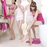 Alisar, Laura, Hanna und Neele drehen einen Werbespot für Gillette Venus Embrace.
