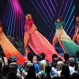 Germany's Next Topmodel: Sie laufen wieder: Die vier Finalistinnen Dominique, Luisa, Sarah-Anessa und Kasia kämpfen um den Titel