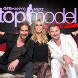 """Das offizielle Jury-Foto ist da: Gemeinsam mit Thomas Hayo und Designer Michael Michalsky sucht Heidi Klum """"Germany's Next Topmodel"""" 2016."""