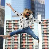 Diese Woche steht ein Tranpolin-Shooting auf dem Programm und Heidi Klum zeigt, wie's geht.