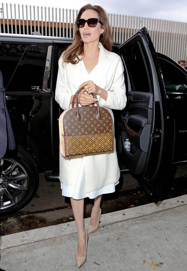 Stars mit Luxus Taschen  
