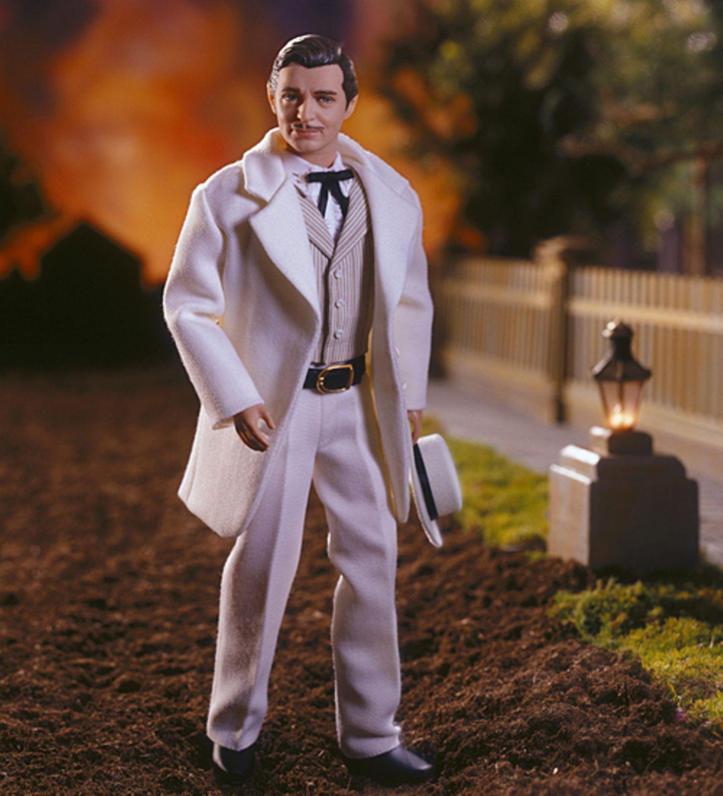 """Ken als romantischer Held Rhett Butler aus """"Vom Winde verweht"""""""