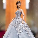Diese Barbie ist fast so schön wie das stylische Original Königin Letizia. Die Puppe kann man in Madrid im Museum bestaunen.