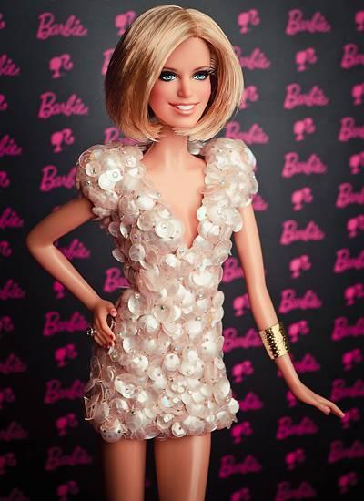stars als barbie