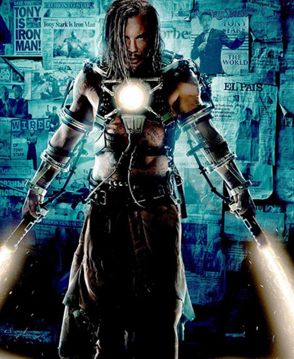 14. Dezember 2009: Whiplash is Back! Nachdem alle Welt weiß, wer sich hinter der Maske des Iron Man verbirgt, macht sich nun auc