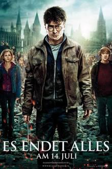 """Am 14. Juli startet der zweite Teil Harry Potter-Finales """"Harry Potter und die Heiligtümer des Todes"""" in den Kinos."""