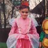 Daniela Katzenberger  Hauptsache auffallen: Schon als Kind setzt sich Daniela Katzenberger gerne in Szene.