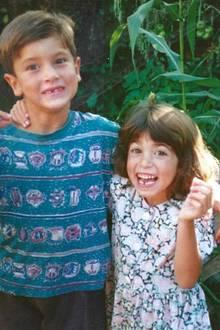 Große Geschwisterliebe bei Nikki Reed und ihrem älteren Bruder. Mit diesem Foto erinnert sie sich an alte Zeiten.
