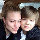 Larissa und Moritz Marolt  Ob die Schwester sein Vorbild ist? Zumindest könnte es sein, dass der zwölf Jahre jüngere Moritz in die Fußstapfen von Dschungelcamperin Larissa Marolt tritt. Er möchte Schauspieler werden.