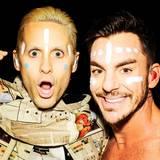 """Jared und Shannon Leto  1998 gründeten die Brüder die Band """"30 Secounds to Mars"""" und feiern noch heute ihren Erfolg zusammen."""