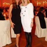 Yasmina Filali und Frauke Ludowig freuen sich auf einen schönen Abend