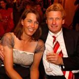 Inga Jensen-Buchholz und Dr. Bernd Buchholz, Vorstandsvorsitzender G&J genießen den gemeinsamen Abend