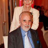 """Christopher Lee und seine Frau Gitte sind seit mehr als 48 Jahren miteinander verheiratet und tragen nun zu Recht den Titel """"Lif"""